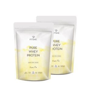 FITSHE multipack pure whey protein vanilla productafbeelding