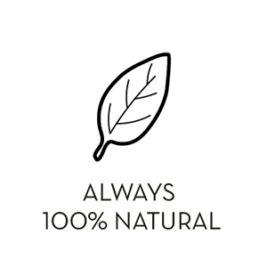 Always 100% Natural Icon