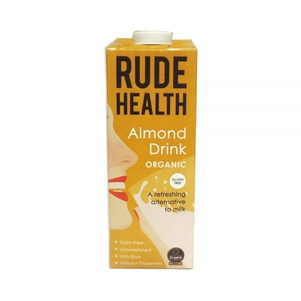 FITSHE rude health almond milk
