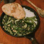 vegan groene curry