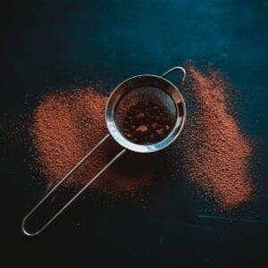 Cacao powder for recipe